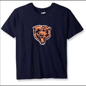 NFL Chicago Bears Women's 1X Screen Print T-Shirt